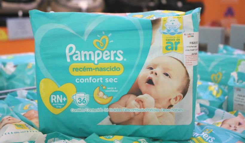 Ri Happy Baby tem promoção especial na compra das fraldas Pampers