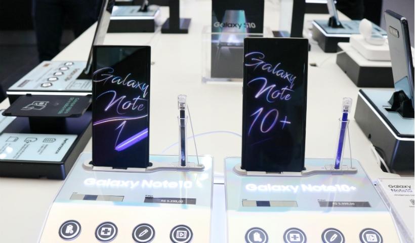 Galaxy Note 10: pré-venda disponível na Samsung