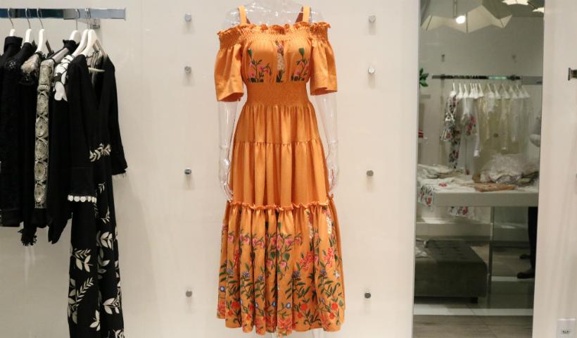 Moda consciente com o vestido sustentável da Marie Mercié