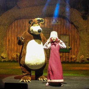 Mês das Crianças RioMar apresenta o espetáculo Masha e o Urso