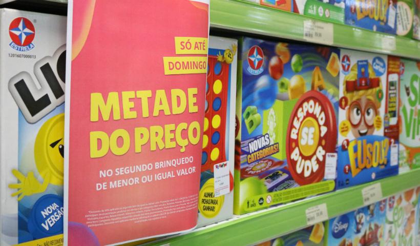 Ri Happy lança campanha com brinquedos pela metade do preço
