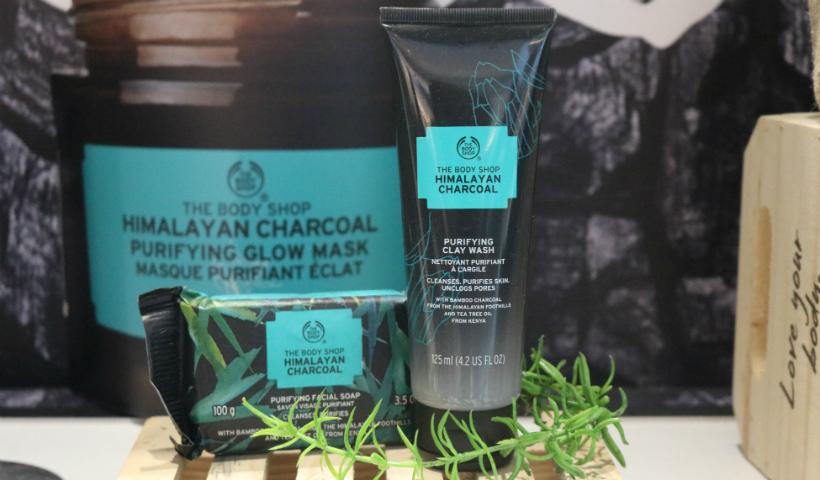 The Body Shop lança novos produtos à base de carvão do himalaia