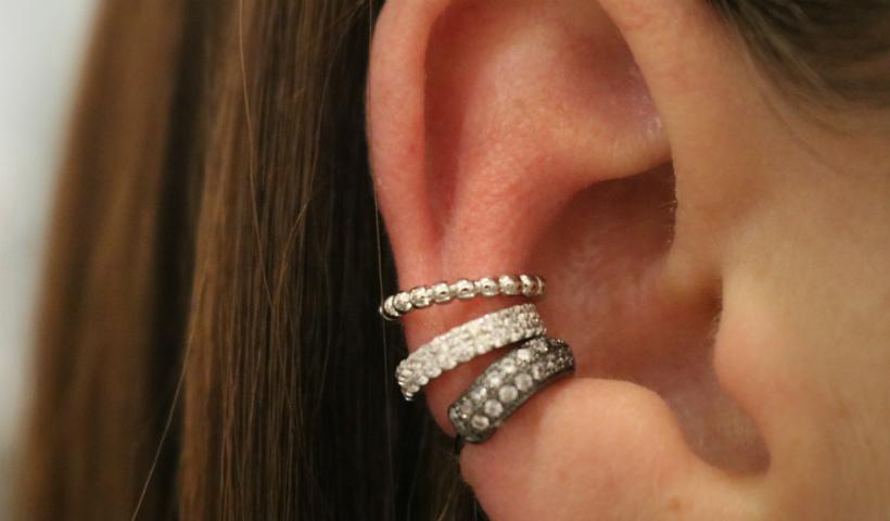 Piercings fake da moda em diversas lojas do RioMar