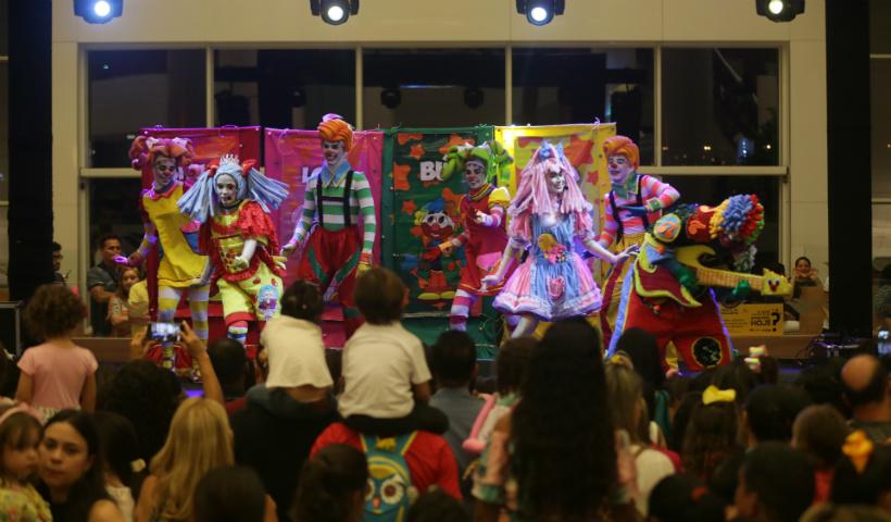 Show infantil no RioMar celebra o Dia das Crianças