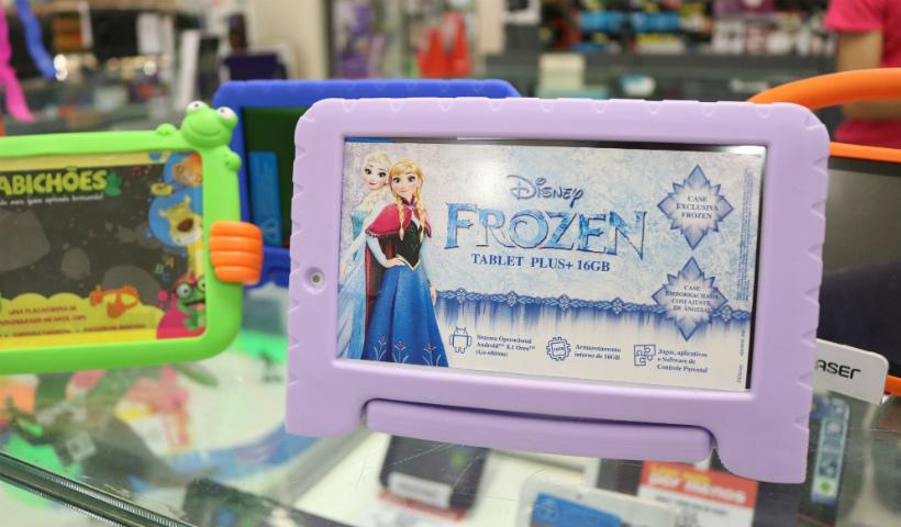 Dia das Crianças: tablets infantis conquistam os pequenos