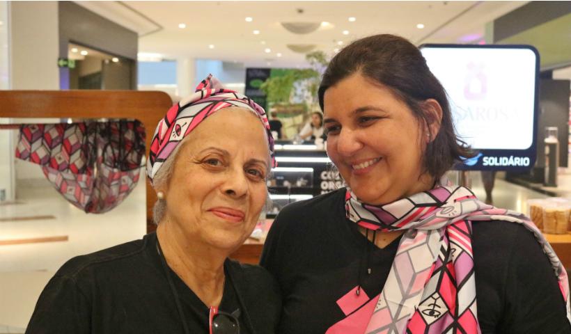 Outubro Rosa: Quiosque Solidário RioMar recebe ONG CasaRosa