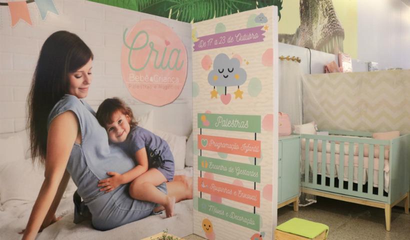 Gestante Brasil promove feira CRIA no RioMar Recife