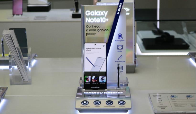 Galaxy Note 10 já disponível na Samsung
