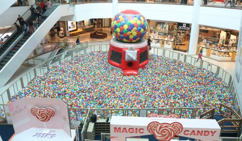 Magic Candy: superpiscina de bolinhas já aberta em novo local
