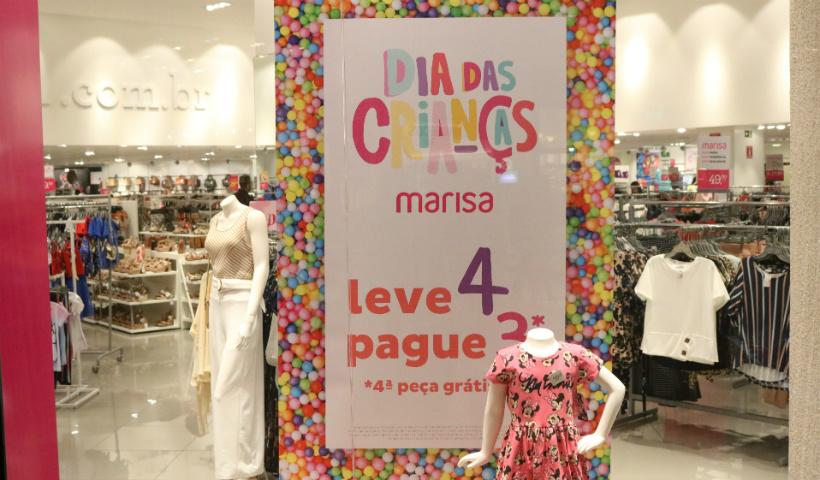 Marisa oferece promoção para Dia das Crianças