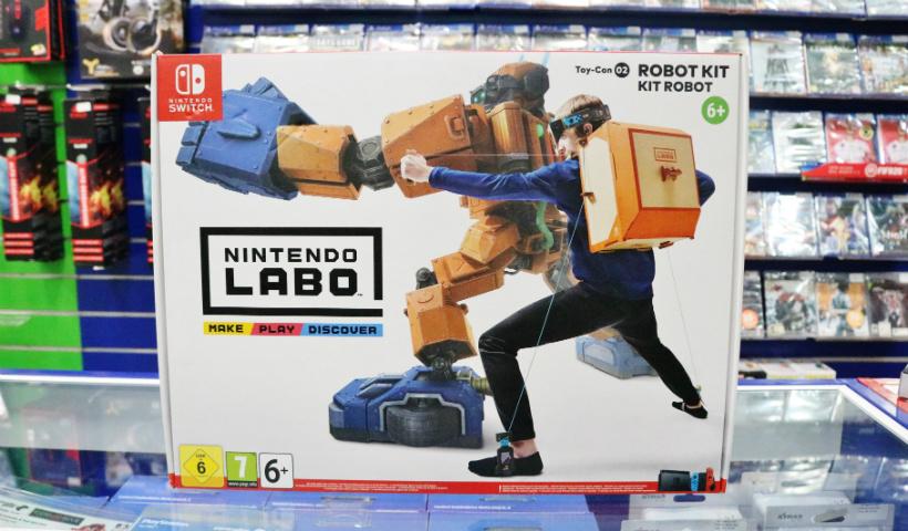 Nintendo Labo: criatividade na hora da diversão