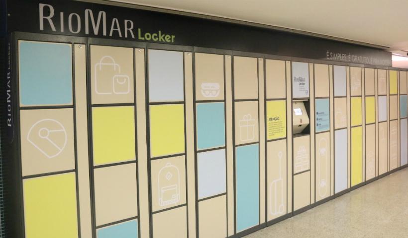 Simples e gratuito, RioMar Locker oferece comodidade para todos