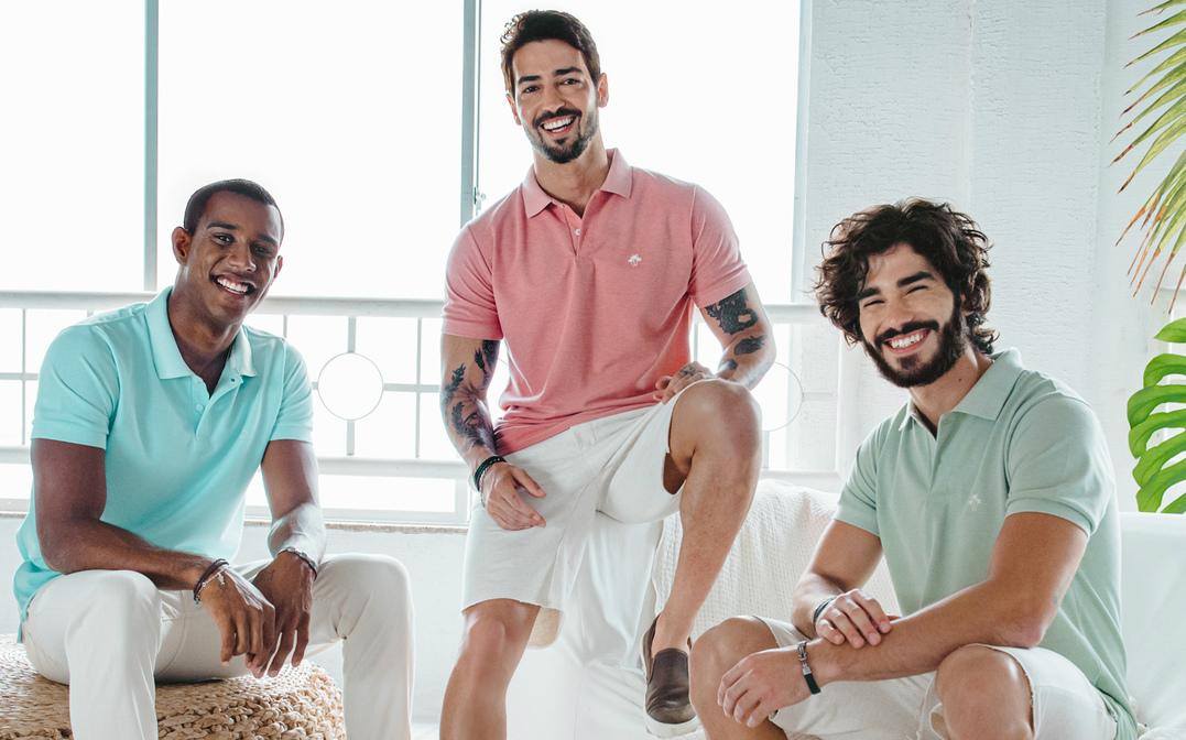 Mitchell conta com nova coleção de verão para os homens