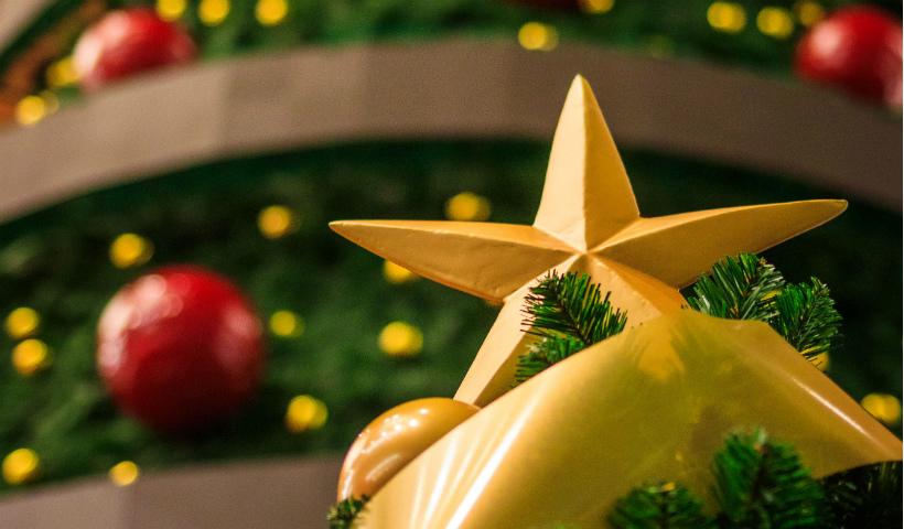 Luzes, cores e música no Natal RioMar