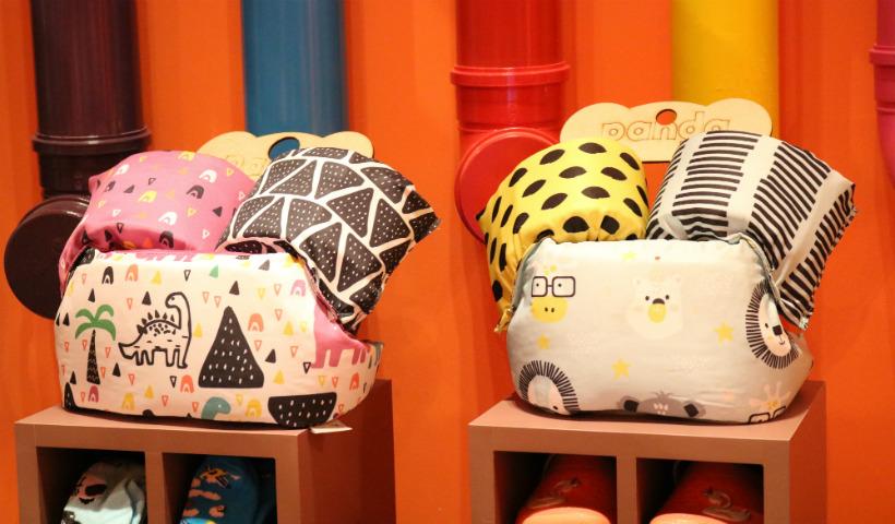 Proteção, cor e diversão na nova loja da Panda Pool
