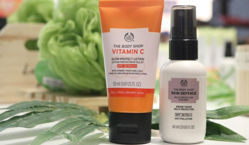 Protetor Solar com Vitamina C da The Body Shop