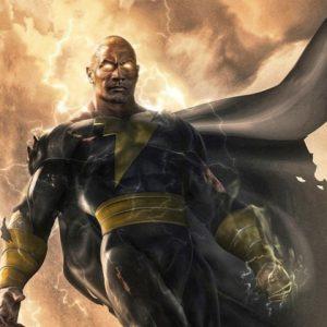 """The Rock revela data de estreia de """"Adão Negro"""", da DC Comics"""