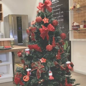 30 de novembro, o dia de montar a árvore de Natal