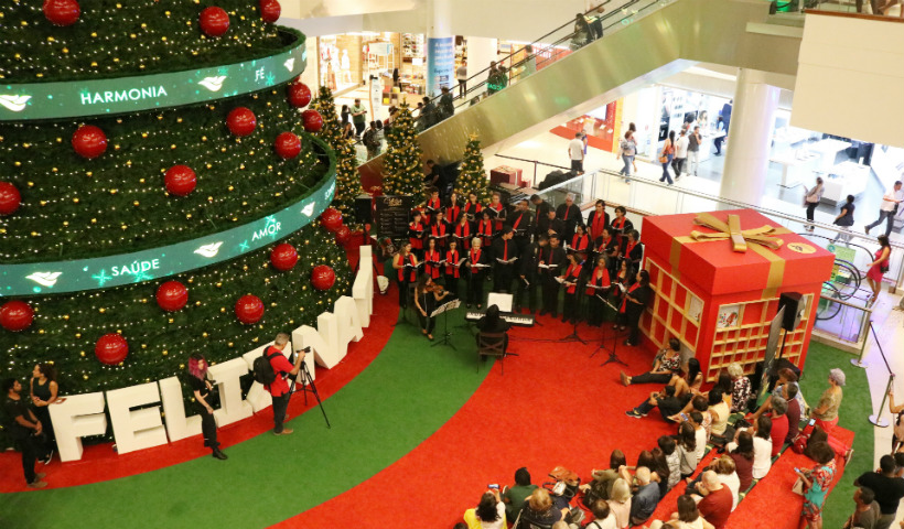 Celebra RioMar: veja a programação dos musicais natalinos
