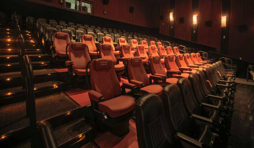 Poltronas D-Box trazem ainda mais imersão ao Cinemark
