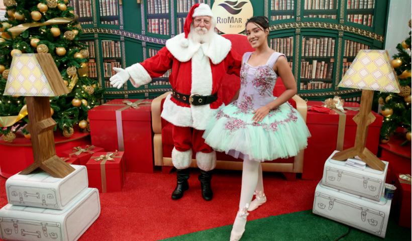 Veja o horário do Papai Noel e venha conhecer o Bom Velhinho