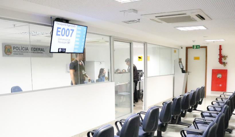 Polícia Federal inaugura serviço de passaporte e mais dois postos de atendimento no RioMar