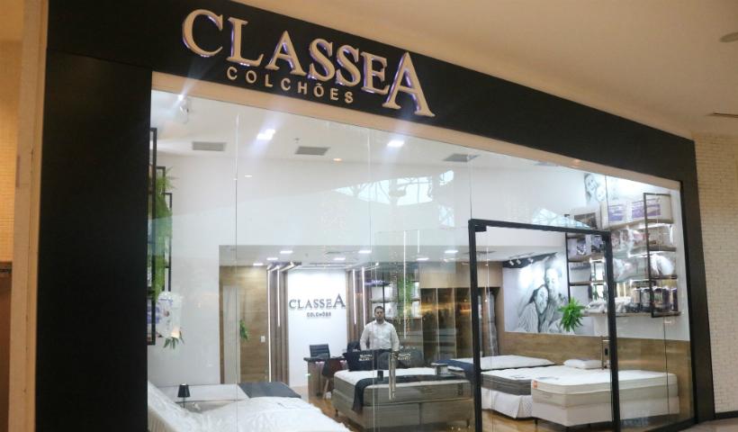 Classe A Colchões inaugura no RioMar Recife