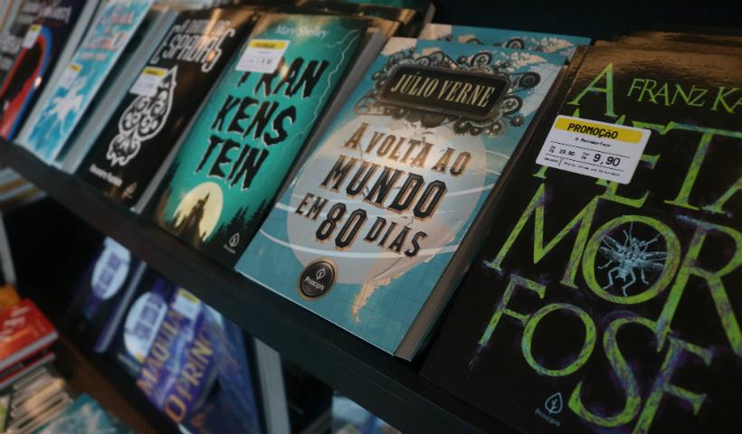 Livraria Saraiva traz obras clássicas por R$ 9,90