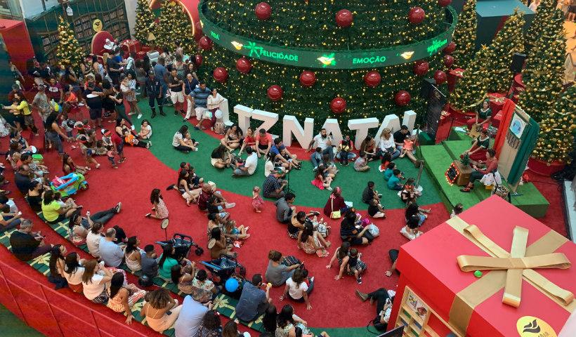 Compras de Natal: neste fim de semana, RioMar funciona das 9h às 23h