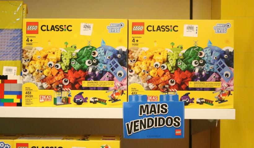 Natal da Lego com a linha Classic em destaque