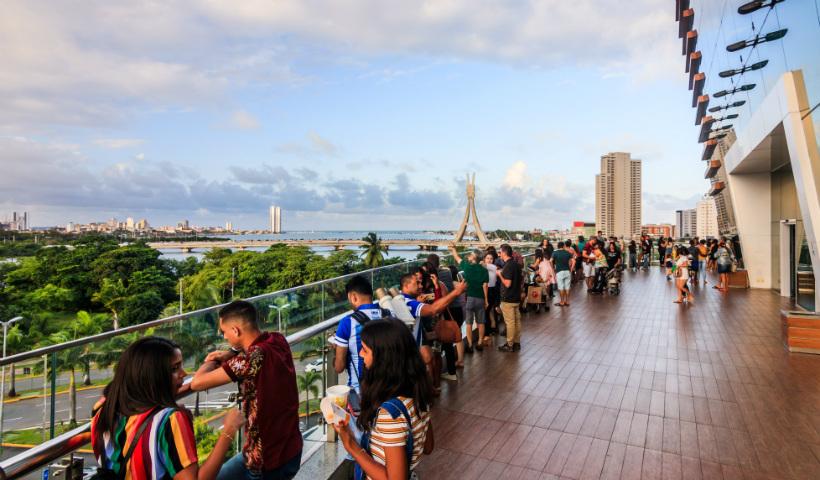 RioMar Recife com horário especial no primeiro dia do ano