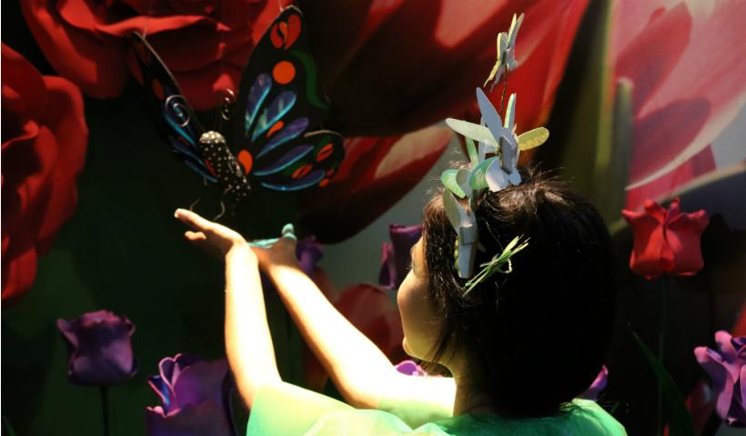 Dica para atualizar o feed: Jardim das Flores no Click RioMar