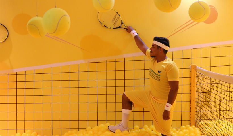 Foto jogando tênis? No Click, dá pra fazer e ainda postar