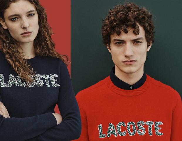 Lacoste lança bordado exclusivo para o Natal