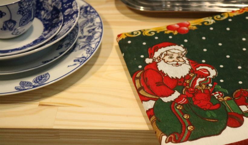 Tecidos temáticos para a sua mesa de Natal na GA+