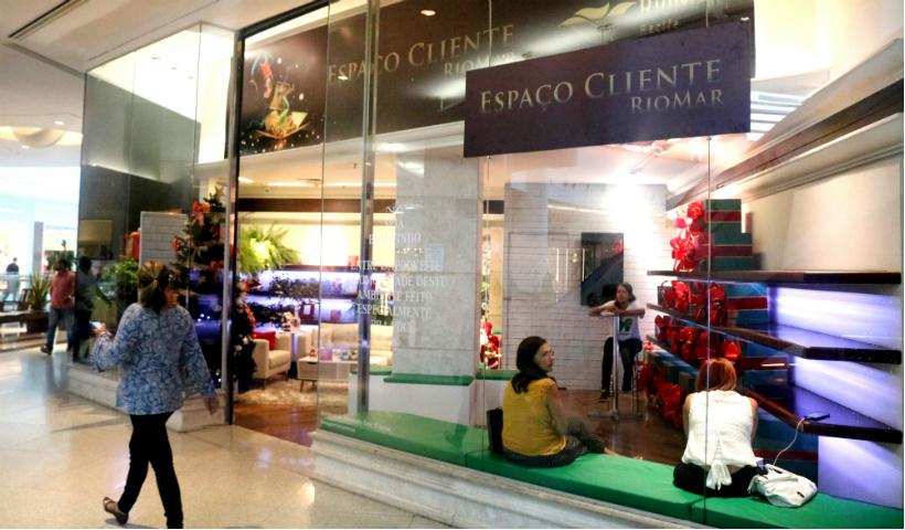 No Natal RioMar, Espaço Cliente oferece conforto e comodidade