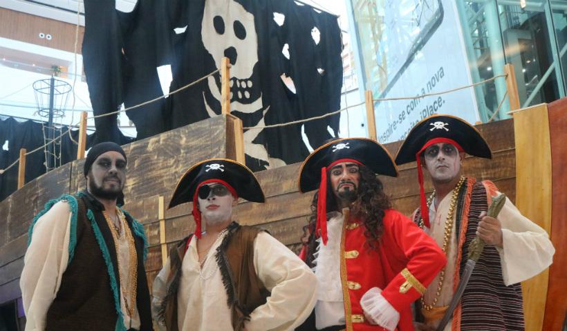 Navio Pirata traz muitas aventuras à Temporada de Férias RioMar