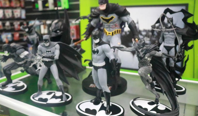 Colecionáveis realistas do Batman causam fascínio na Geek Gamer