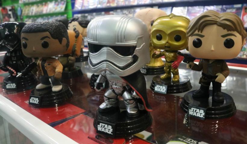 Colecionáveis de Star Wars para quem é fã da saga
