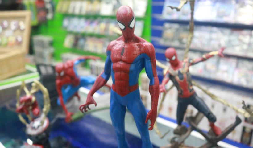 Dica nerd da semana: colecionável realista do Homem-Aranha