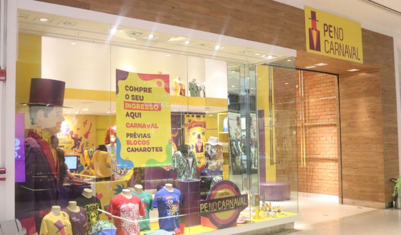 Para a alegria dos foliões, loja PE no Carnaval chega ao RioMar