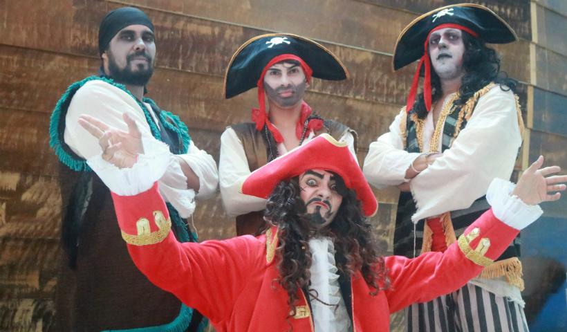 Navio Pirata: conheça os mistérios da tripulação