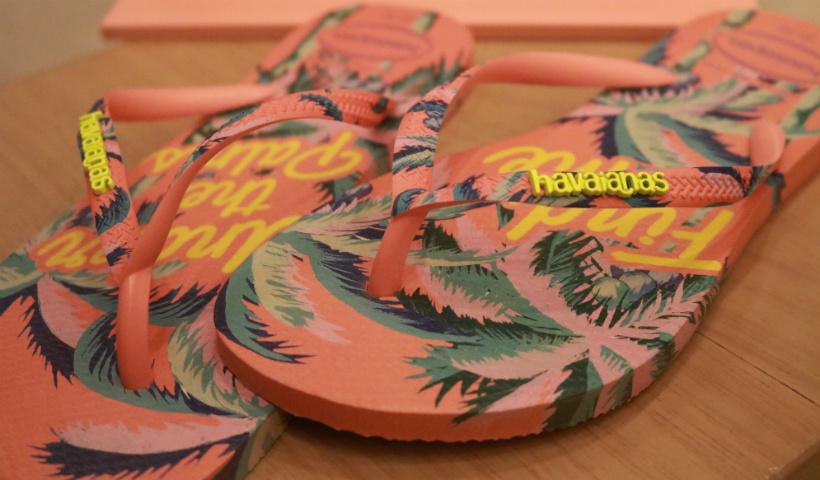 Sandálias Havaianas imperam no verão
