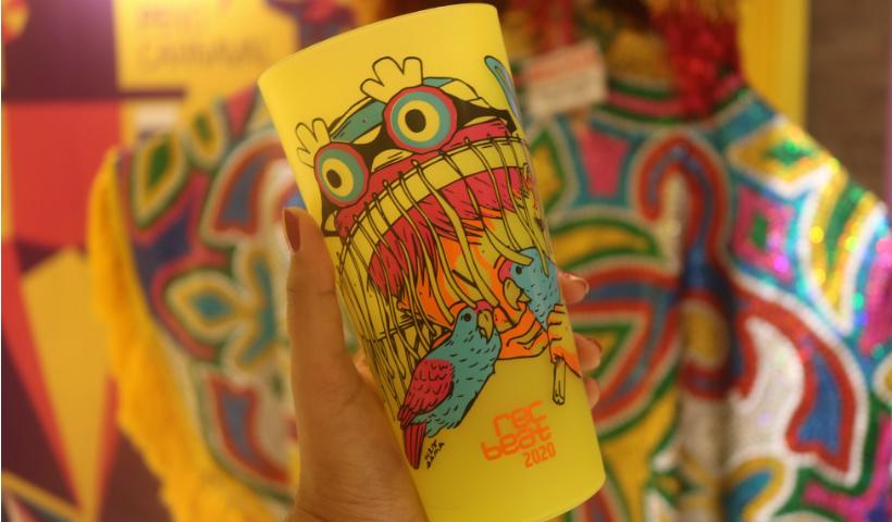 Copo Rec-Beat para um Carnaval sustentável