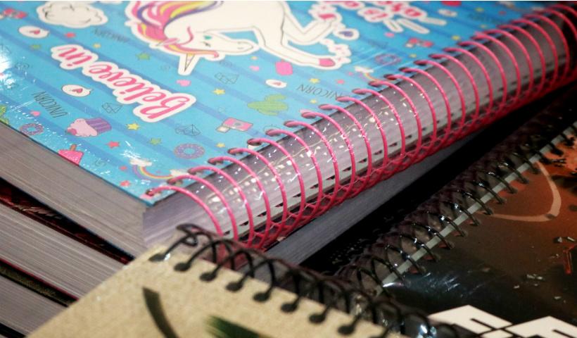 Kalunga tem cadernos com descontos progressivos