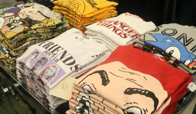 Onde encontrar camisas das suas séries favoritas