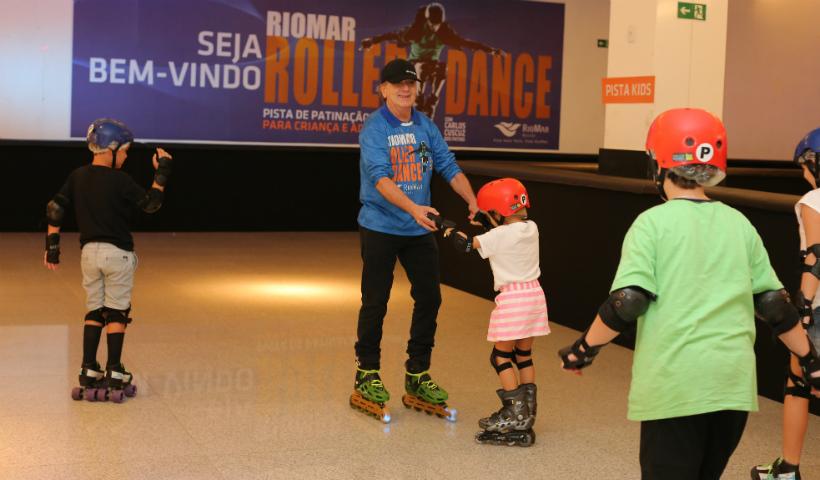 RioMar Roller Dance: aproveita as férias e vem