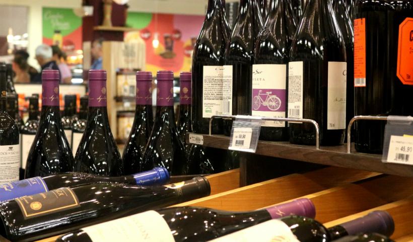 Semana do Vinho Perini com vários rótulos em oferta
