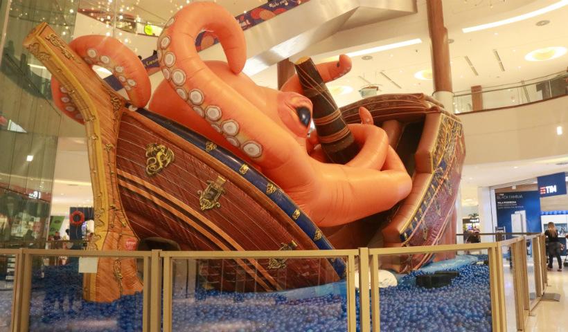 Magic Navio ancora no RioMar para divertir a criançada