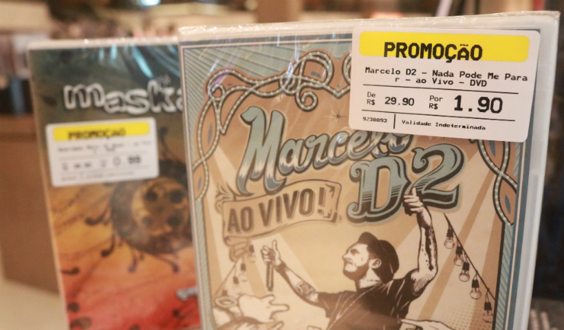 Livraria Saraiva apresenta CDs e DVDs a partir de R$ 0,99